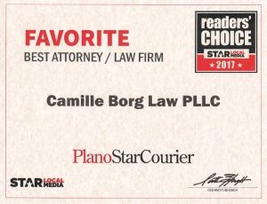 Readers' Choice Best Attorney Award